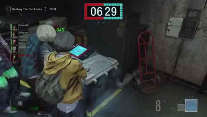 موسیقی Resident Evil 3 در بازی Project Resistance