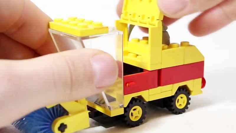 خلاقیت با لگو Lego - Back To History - 6645 Street Sweeper