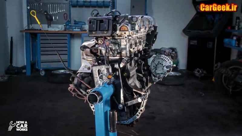 Beautiful Engine Teardown - Stop Motion - Miata MX5