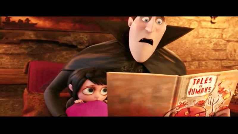 محبت پدرانه لولوخان در انیمیشن هتل ترانسیلوانیا
