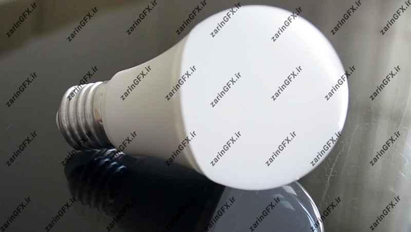 فوتیج کار با لامپ LED