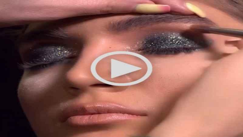 آموزش آرایش سایه چشم شاین اکلیلی - مدل آرایش چشم اکلیلی عروس | سایت آرایار