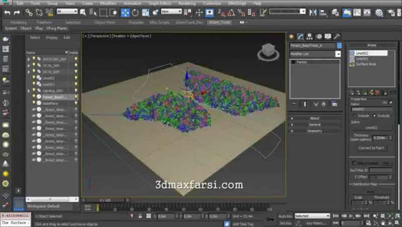 Download Building a Realistic Aerial Forest Scene in 3ds Max | Pluralsight