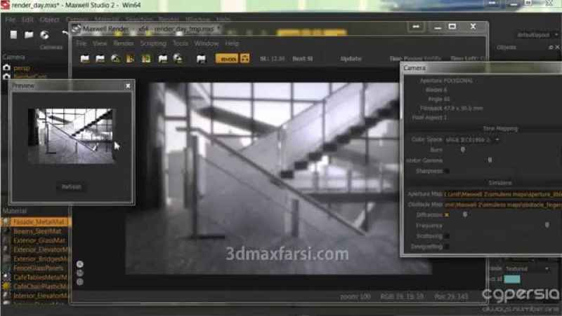 Download quickly Rendering Architectural Visualizations in Maya and Maxwell Render
