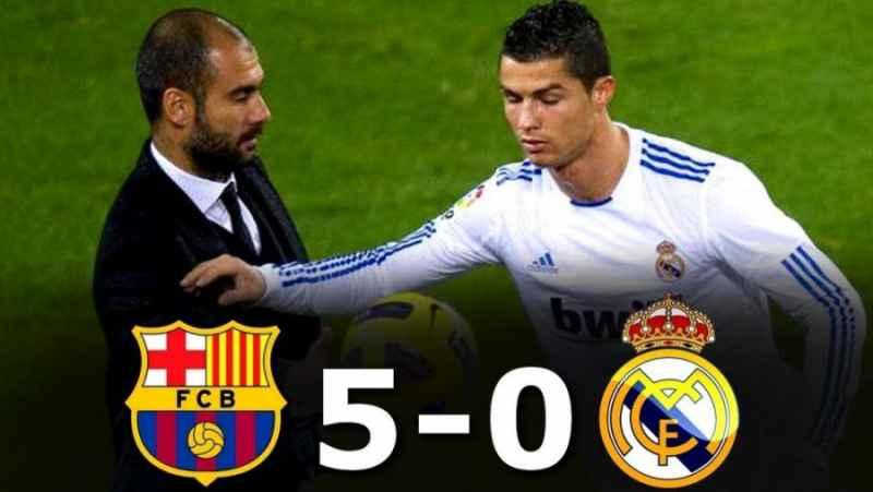 فول مچ : بارسلونا 5-0 ریال مادرید ( لالیگا - 2010 )