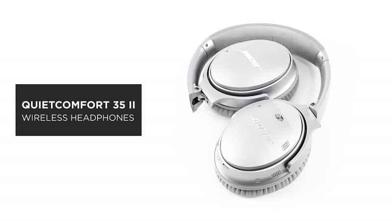 راهنمای استفاده از هدفون وایرلس Bose QuietComfort 35 Wireless II