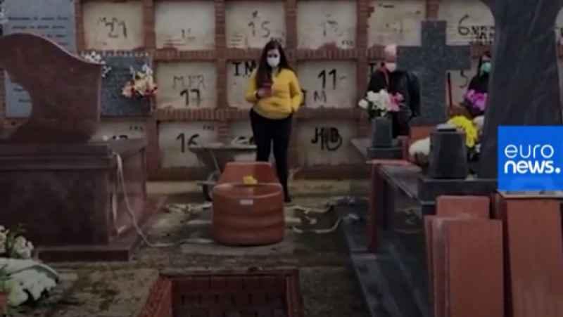 مراسم خاکسپاری آنلاین