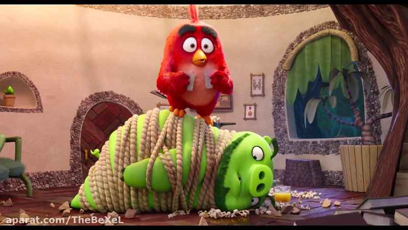 انیمیشن پرندگان خشمگین 2 - Angry birds 2