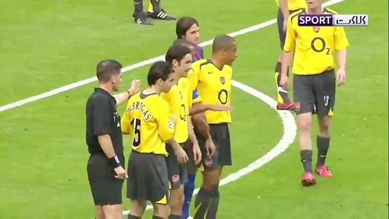 فینال لیگ قهرمانان اروپا 2006؛ بارسلونا - آرسنال
