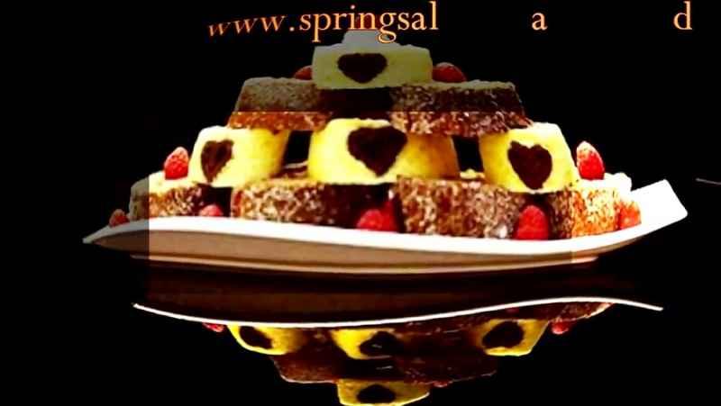 شیرینی رولت ازآشپزخانه خوراک ایرانی. روش پخت شیرینی رولت با مره کاکایو   Roll