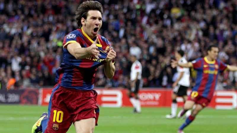 بارسلونا  منچستریونایتد    فینال لیگ قهرمانان اروپا 11-2010
