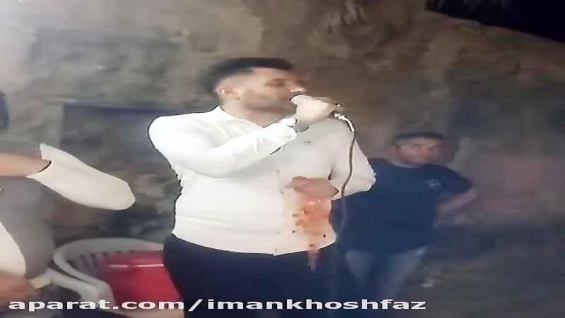 ایمان خوش فاز درکنار احسان موزیک در جشن
