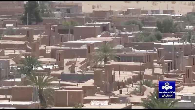روستای چوپانان منظم ترین روستای خشتی جهان در ایران
