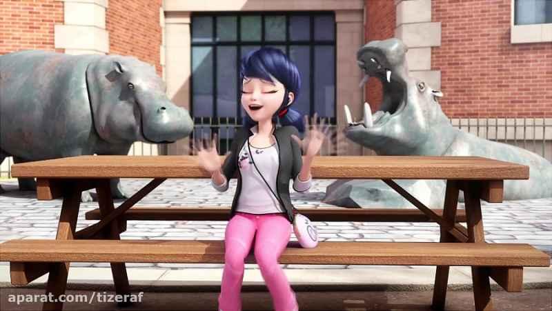 انیمیشن ماجراجویی در پاریس دوبله فارسی-دختر کفشدوزکی فصل اول قسمت 14