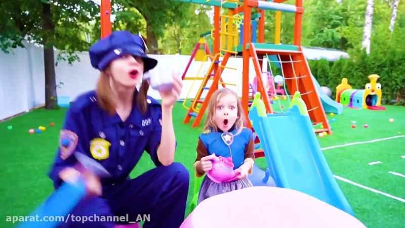 مایا و مریم _ ترانه های کودکانه _ آهنگ درباره پلیس برای کودکان