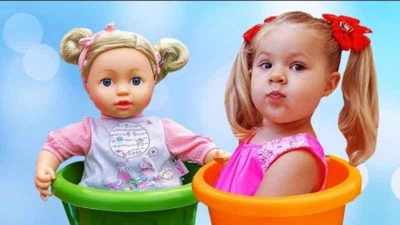دیانا و روما :: بازی و سرگرمی با عروسک ها :: ماجراهای دیانا و روما