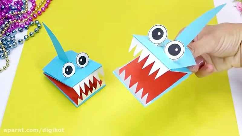 5 کاردستی کاغذی آسان و جالب برای سرگرمی کودکان