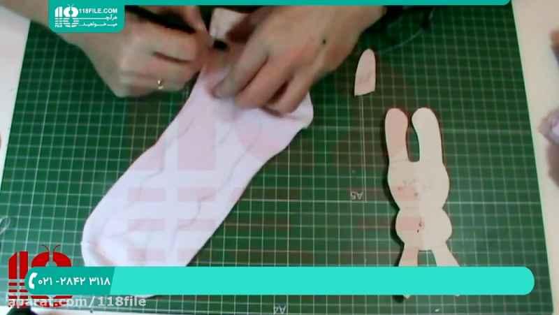 آموزش عروسک سازی | ساخت عروسک روسی | دوخت عروسک ( عروسک خرگوش )