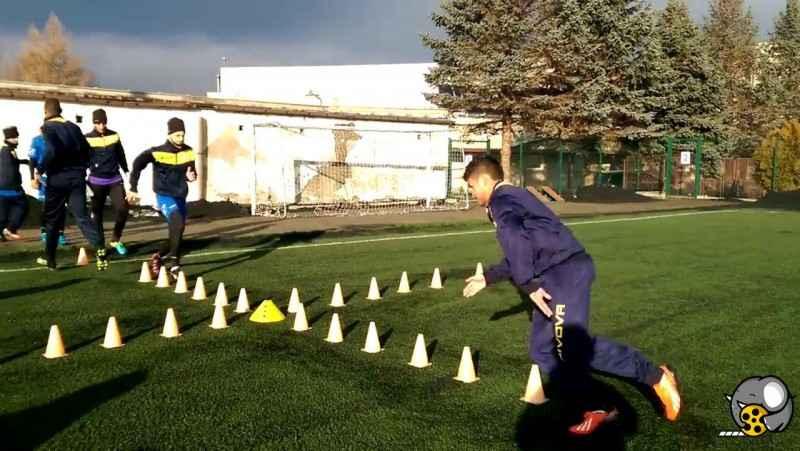 تمرین فوتبال و مربیگری فوتبال و بدنسازی فوتبال