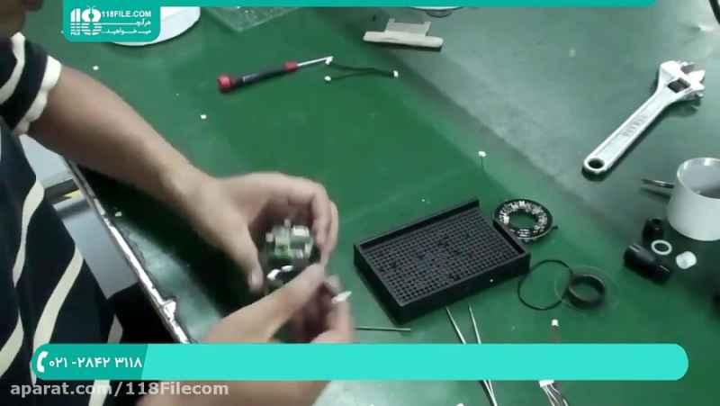 آموزش تعمیر دوربین مداربسته | دوربین تحت شبکه (آموزش کامل تعمیر دوربین مداربسته)