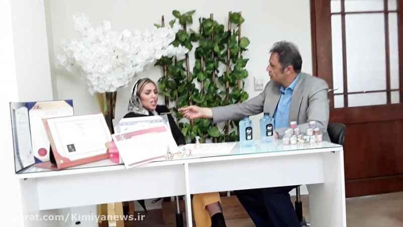 کافه خبروگپ وگفت با فرزانه دهقان مدیرمرکز زیبایی فرزانه دهقان (2)