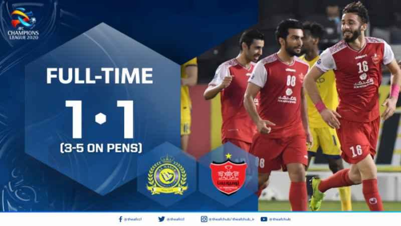 لیگ قهرمانان آسیا 2020: پرسپولیس ایران (1) - (1) النصر عربستان | بازی کامل