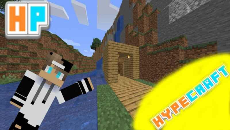 پارت اول سرور هایپکرفت(خونمو ساختم هوراا!)_ماین کرافت ماینکرافت Minecraft