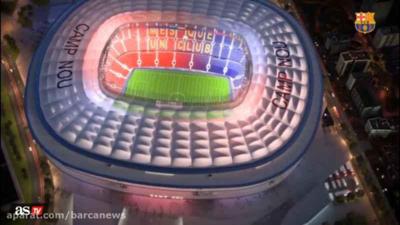 ورزشگاه نو کمپ بارسلونا