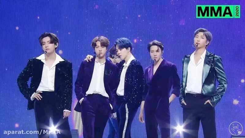 اجراهای کامل بی تی اس BTS در مراسم Melon Music Awards 2020