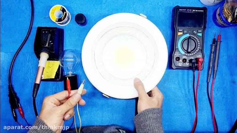آموزش تعمیر پروژکتور LED_قسمت24