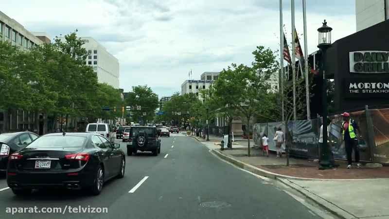 نوزده (19) دقیقه رانندگی در شهر بتزدا آمریکا   (خیابان های جهان 113)