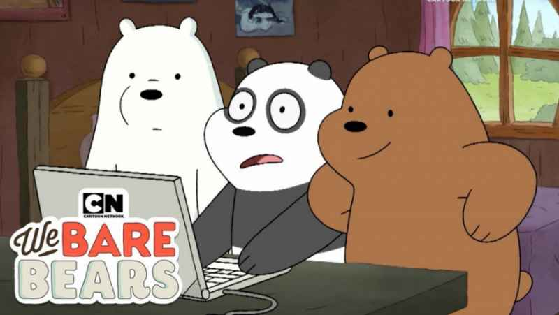 انیمیشن سه خرس کله پوک:: کار با لب تاپ:: دانلود کارتون سه خرس کله پوک