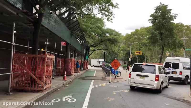 بیست و هفت (27) دقیقه رانندگی در بروکلین نیویورک   (خیابان های جهان 256)