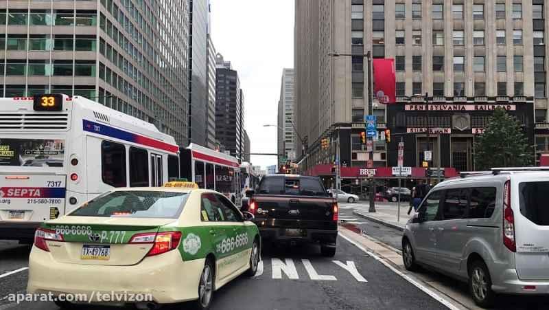 بیست و سه (23) دقیقه رانندگی در فیلادلفیای آمریکا   (خیابان های جهان 271)