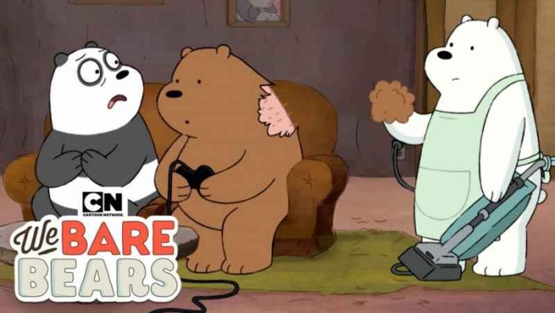 انیمیشن سه خرس کله پوک:: جاروبرقی:: دانلود کارتون سه خرس کله پوک