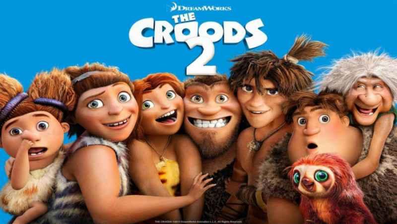 انیمیشن croods قسمت دوم دوبله فارسی