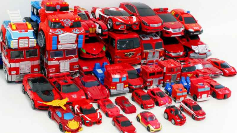اسباب بازی ماشین های قرمز / اسباب بازی پسرانه / اسباب بازی جدید