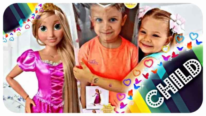 دیانا و عروسک راپونزل جدید - ماجراهای دیانا و روما - کودک دیانا روما