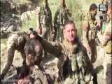 سربازان ارتش اشغالگر ترکیه سر بریدن تروریست کرد ی-پ-گ در سوریه ۱۸+