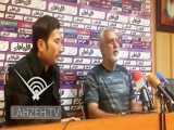 حسین فرکی در نشست خبری پیش از بازی با ذوب آهن