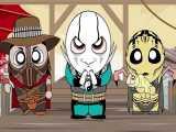 کارتون Kombat Kids) Mortal Kombat)