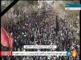 عزاداری و راهپیمایی مردم کرمان در پی شهادت سردار قاسم سلیمانی