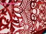 فیلم پارچه پولکی ظهیرمراد قرمز