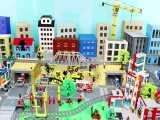 سورپرایز اسباب بازی های کامیون ، قطار و وسایل اسباب بازی تراکتور برای کودکان