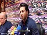 فرهاد مجیدی: آقای رئیسی چرا به فوتبال ورود نمیکنید؟