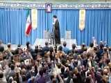 شعرخوانی احمد بابایی در محضر رهبر انقلاب