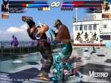 گیم پلی آنلاین Tekken Tag Tournament 2 با Heiachi a و Jinpachi برای Wii U