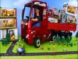 اسباب بازیهای ماشین های پلیس ، جرثقیل ، کامیون های زباله  برای کودکان