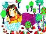 دختر خانم تنبل شکمو-قصه چاقاله خانوم-داستان کودکانه-شعر کودکانه-قصه مدرسه