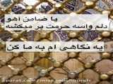 کلیپ تبریک تولد امام رضا / میلاد امام رضا مبارک / یا ضامن آهو